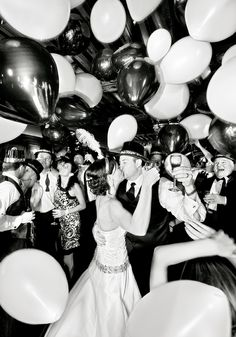 New years eve wedding, love this!