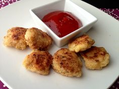 Paleo Chicken Nuggets - paleocupboard.com