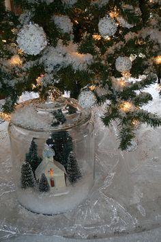 Putz House in a jar