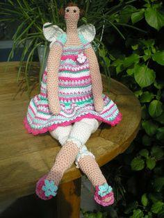 Tilda doll- part 1: head and body (in dutch)