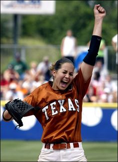 Cat Osterman!! Pitched for Texas Longhorns and USA.