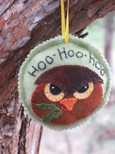 Free Wool Ornament of the Month by Woolie Robin
