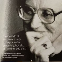 dame cicely saunders quotes quotesgram