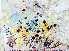 artists, public spaces, sky, collages, design blogs, mark bradford, mixed media art, medium, mixed media collage