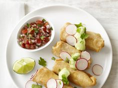 30-Minute Mexican Chicken Flautas #RecipeOfTheDay