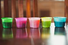 children: Easter Egg Dye-ing...without the eggs