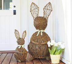 Vine Bunny Decor