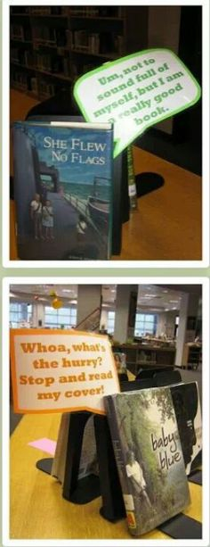 Great idea for school or classroom library