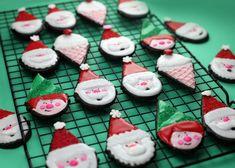 Cute #Santa #cookies