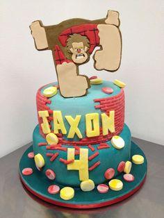 wreck it ralph cake - Google Search