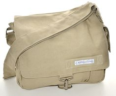 Love this gift for him Canvas messenger bag