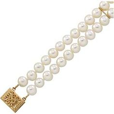 Double Strand #Pearl #Bracelet only $237.00