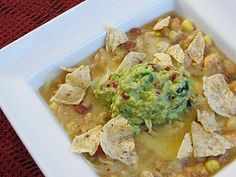 White Chicken Chili - Easy make-ahead slow cooker meal- helpful now that we have an activity every night of the week!