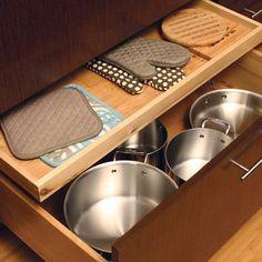 Pots & Pans storage idea