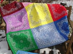 Creative Passage: Bandanna Blanket