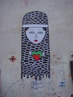 #StreetArt #UrbanArt #Graffiti - Paris Belleville/ Ménilmontant - Photos by My Urban Island