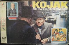 MILTON BRADLEY: 1975 Kojak Game #Vintage #Games