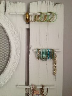 diy jewelry storage organizer
