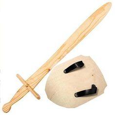 Wooden Sword | Wooden Shield | Toy Sword