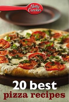 Bargain e-Cookbook: 20 Betty Crocker Best Pizza Recipes 99 cents! #recipe #thefrugalgirls