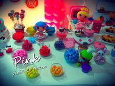 Pink Ateliê de Festas: 1 Ano da Helena (Tema: Lalaloopsy Gourmet)