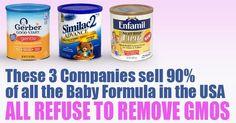 3 Companies Using GMOs in Baby Formula NEW
