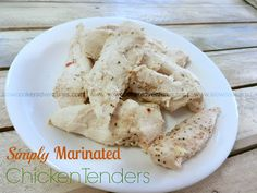 A Busy Mom's Slow Cooker Adventures: Simply Marinated Chicken Tenders - Gluten-Free