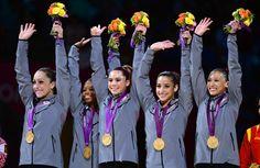USA women's gymnastics team final GOLD!
