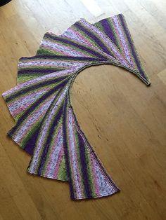monjet's Wingspan using Softfun Batik by Scheepjeswol