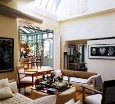 another view of penthouse conservatory nyc