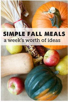 delicious ways to eat healthy this fall - it's all about cooking low and slow!