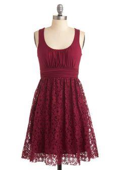 Raspberry Iced Tea Dress, #ModCloth