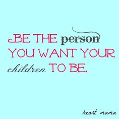 Love! So many people push their kids to attain perfection and have qualities that they do not have themselves.