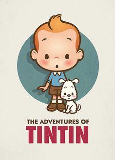 TinTIn #fanart #illustration #cute