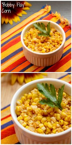 """Bobby Flay"" Corn with chili  lime - inspired by the celebrity chef 