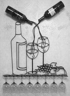 bottle & glass holder