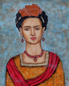 Frieda Kahlo Painting  - Frieda Kahlo Fine Art Print