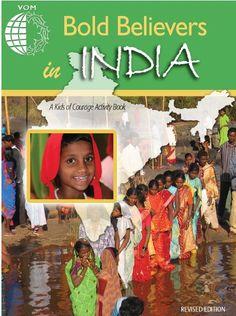 Bold Believers in India Activity Book Downloads #homeschool #teach #edu