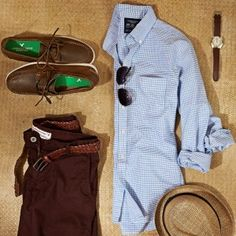 take a #vacation to the Cape in New England #style http://www.cefashion.net/mens-fashion-destination-cape-cod-massachusetts/ #fashion #boatshoes #hat #trousers