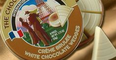 The Chocolate Traveler - individual chocolate wedges in tins for every occasion