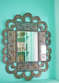 Gorgeous boho mirror