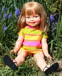 """""""Giggles"""" doll by Ideal 1967"""