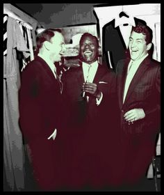 Frank Sinatra,Nat King Cole and Dean Martin