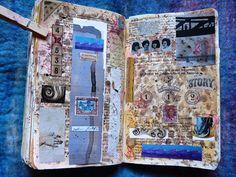 art journal by LaWendula, via Flickr