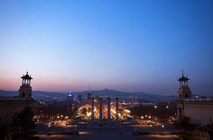 Vista MNAC by Renata Lamezi, via Flickr