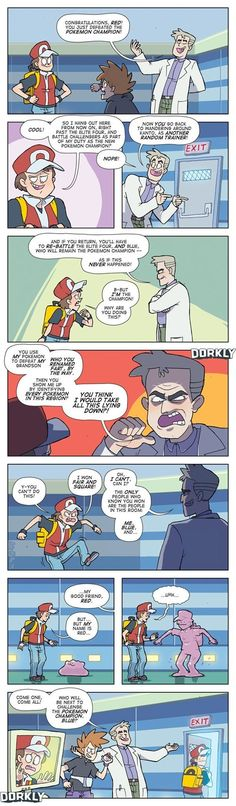 What Really Happens When You Beat Pokémon