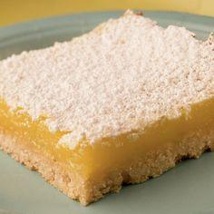 Sugar-dusted Lemon Bars - Love lemon