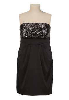 Sequin Tube Dress with Pockets - maurices.com