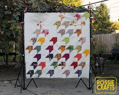 The Flyers Quilt by r0ssie, via Flickr