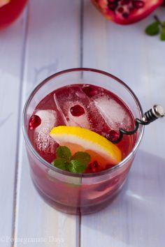 Pomegranate Cocktail | Pomegranate Days